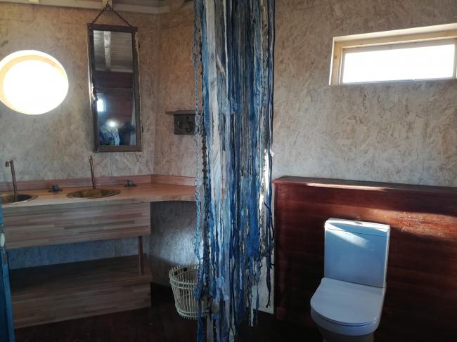Отель Shipwreck Lodge. Фотография предоставлена Nina Maritz Architects