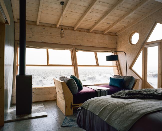 Отель Shipwreck Lodge. Фотография © Michael Turek. Предоставлена Nina Maritz Architects