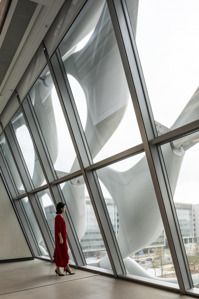 Комплекс Kolon One & Only Tower. Фото © Jasmine Park, предоставлено Morphosis Architects