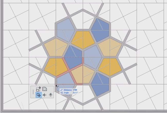 GRAPHISOFT®  В режиме редактирования можно создать шаблон любого фасада