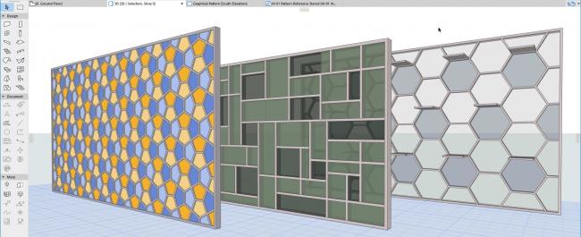 GRAPHISOFT®  В новой версии легко создать любой узор фасада