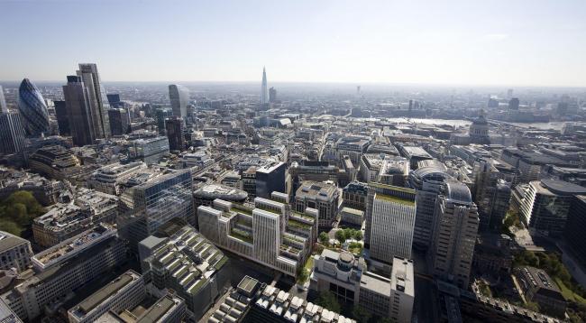 Офисный комплекс London Wall Place © Cityscape