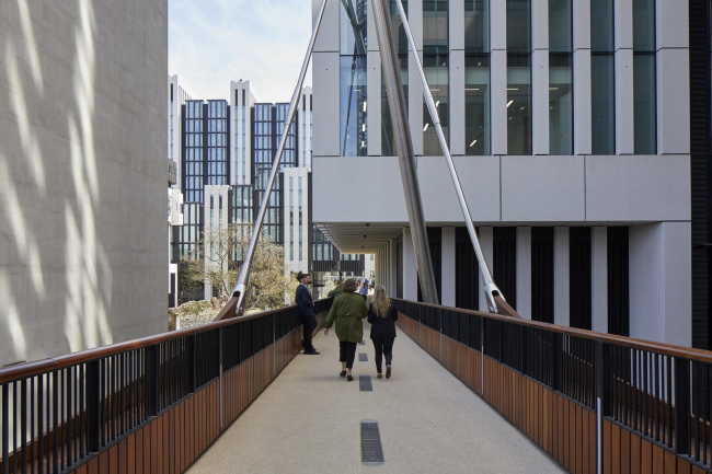 Офисный комплекс London Wall Place © Make Architects