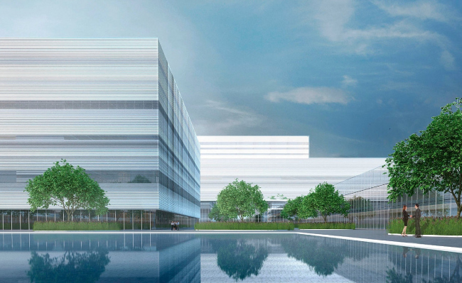 The Parliamentary Center, a competition project, 2015. Version 2 © A-GA