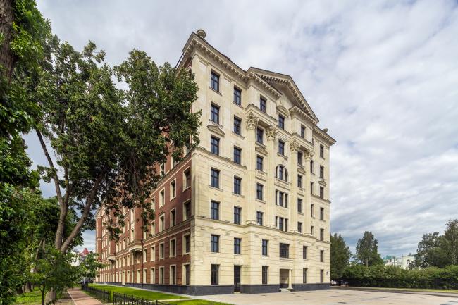 """Verona"" housimg complex © Evgeny Gerasimov & Partners"