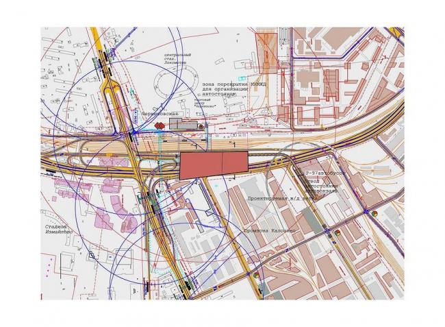 Московский автовокзал у станции метро «Черкизовская»