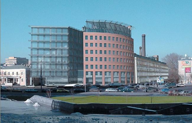 Административно-деловой центр на Садовнической улице («Аврора бизнес-парк»), 2 очередь