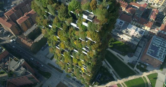 Жилой комплекс Bosco Verticale © Stefano Boeri Architetti