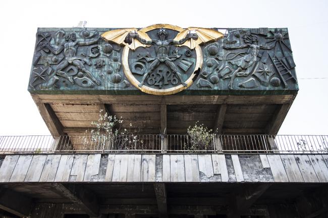 Актовый зал Промышленно-технического колледжа в Тбилиси (1976) © Roberto Conte
