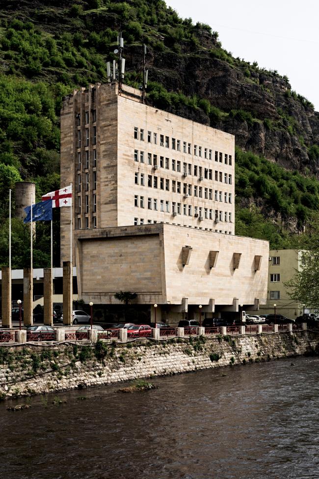 Здание администрации в Чиатуре © Stefano Perego