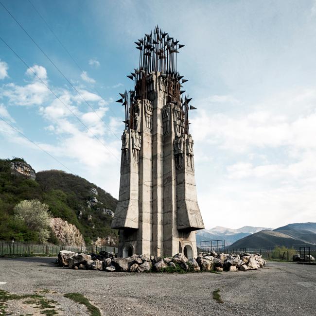 Памятник 300 арагвельцам в Жинвали © Stefano Perego