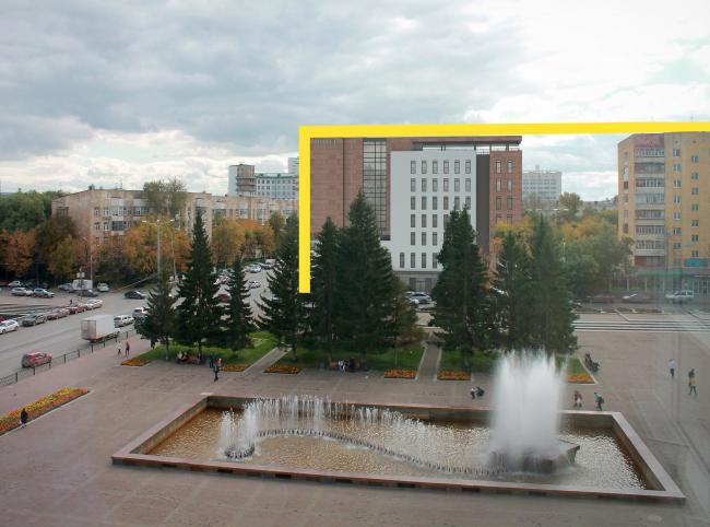 Гостиница на площади Советской Армии. МУГИСО © АБ Center