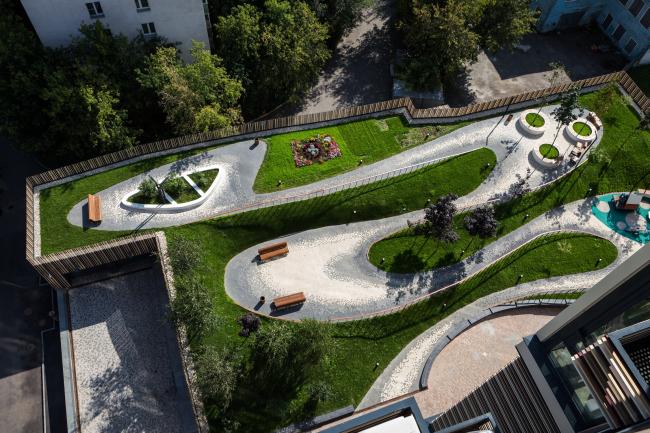 Жилой комплекс «Карамель» © ADM