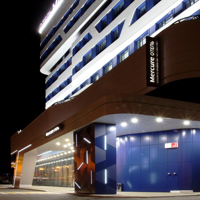 Отель «Mercure». Фотография