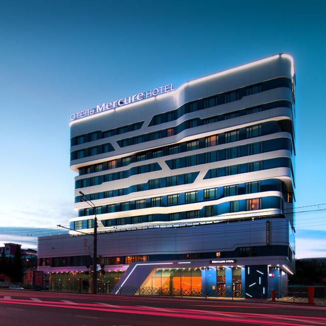 Отель «Mercure». Фотография © Александр Шеметов