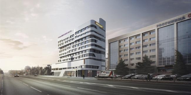Mercure Hotel. Project.