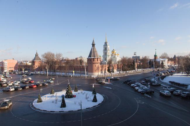 Вид Крестовоздвиженской площади до реконструкции, 2017. Фотография предоставлена WOWHAUS
