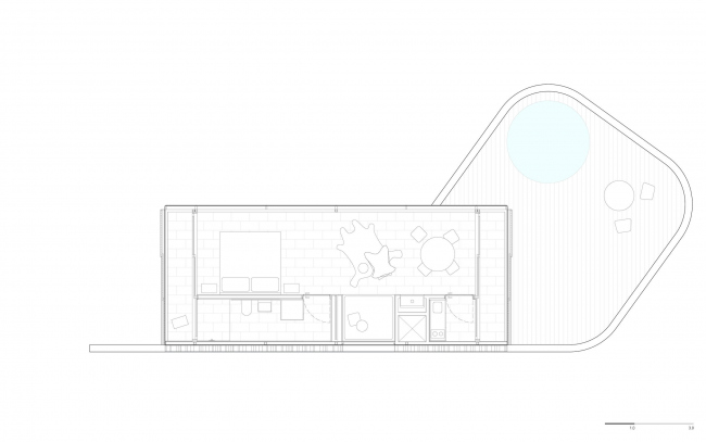 Бунгало Sacromonte Shelters © MAPA Architects