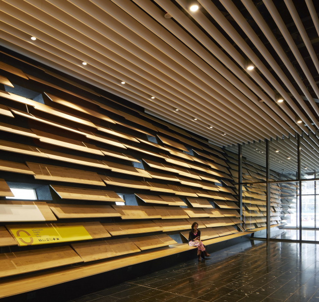 Kengo Kuma Associates.Филиал Музея Виктории и Альберта в Данди