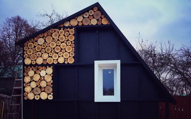 Мини-дом «Дровница» © АБ «А-ГА»