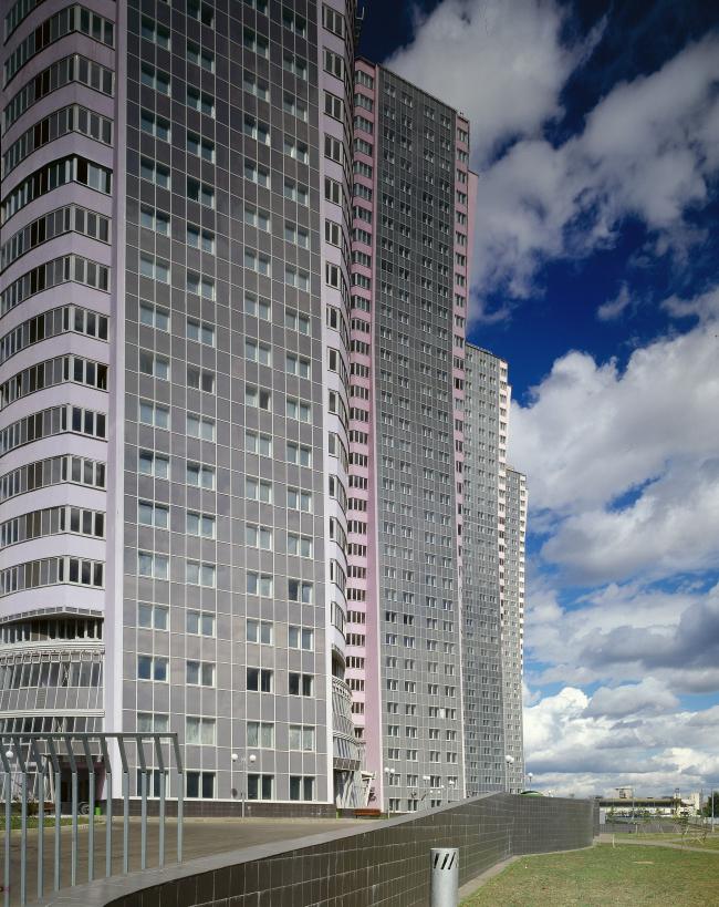 Жилой комплекс «Гранд Парк». 2-я очередь строительства. 33-этажные башни  © ГУП МНИИП «Моспроект-4»