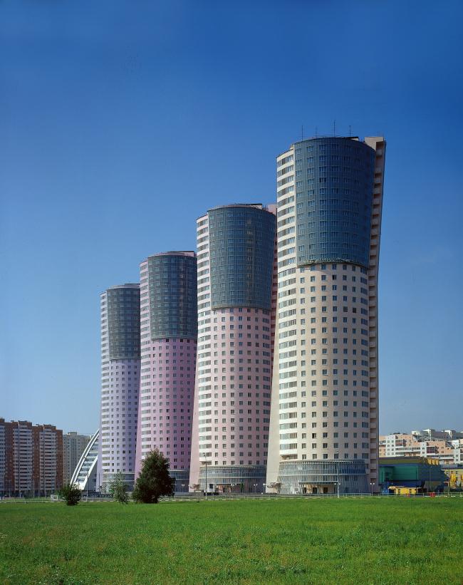 Жилой комплекс «Гранд Парк». 2-я осередь строительства  © ГУП МНИИП «Моспроект-4»