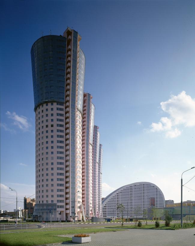 Жилой комплекс «Гранд Парк»  © ГУП МНИИП «Моспроект-4»