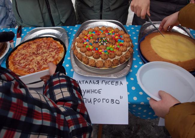 Соседский праздник «День пирога». 2018 г. Фотография предоставлена бюро «Дружба»