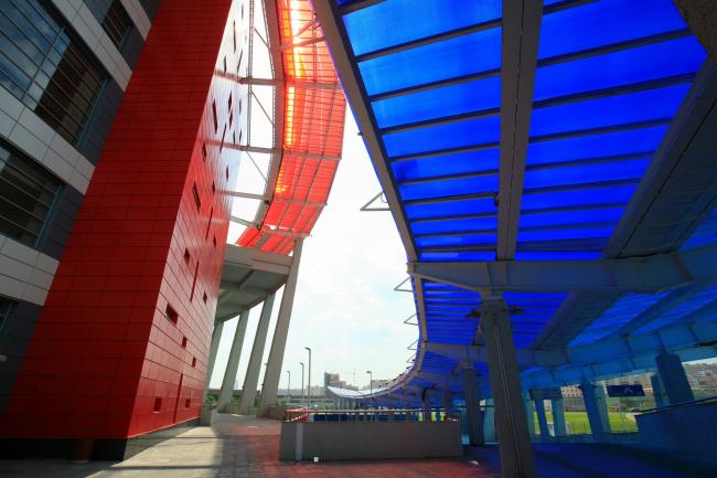 Ледовый дворец спорта на Ходынском поле © Моспроект-4