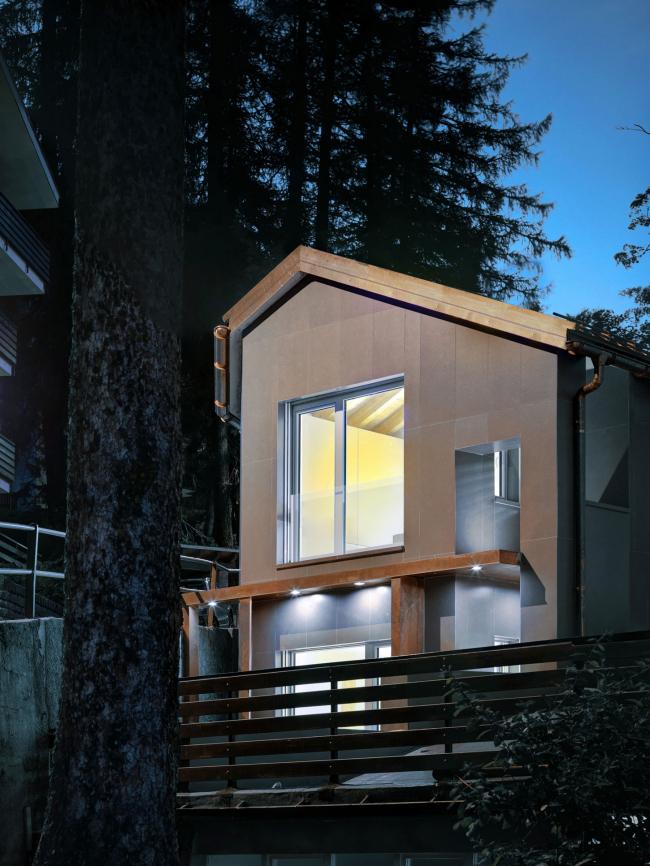 Жилой дом со встроенной системой «Реалит» RPE 35, Мадесимо, Италия, ES-Фкср, фотография © Marcello Mariana