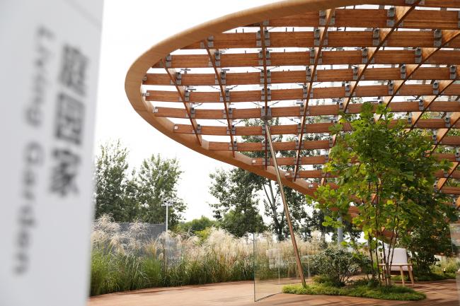 Павильон «Живой сад». Фотография © Zhao Chunhui