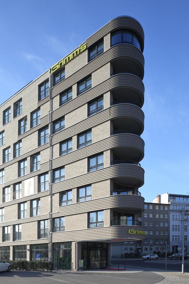 Отель Grimm's Mitte © Норман Радон, RADON. Фотография: Маркус Пфайффер, Берлин