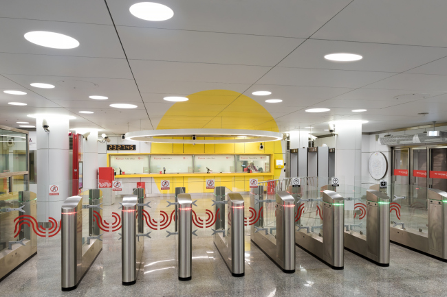 Станция метро «Солнцево» © Nefa Architects