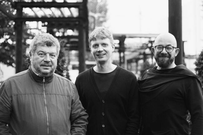 Yury Safronov, Mark Safronov, Rustam Kerimov. Photo: ATOM ag