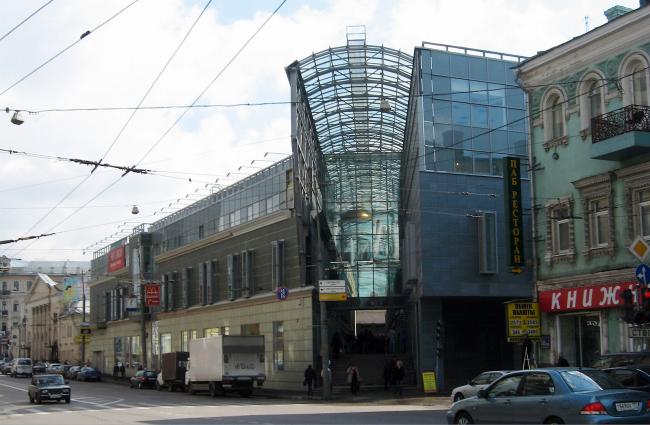 Комплекс зданий Московского Государственного театра детской эстрады ©  «Моспроект-4»