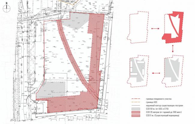 «Квартал Квартет». Схема планировочных решений © sp architect
