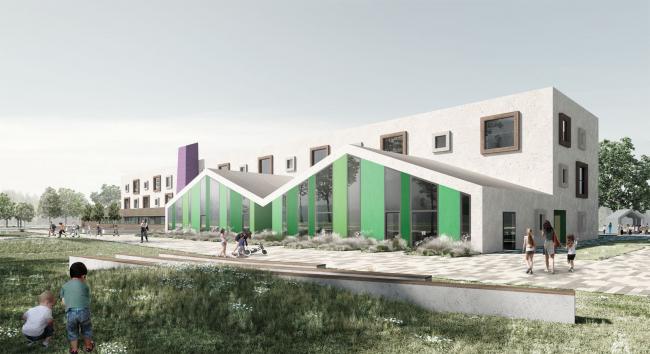 Дошкольная образовательная организация «Фабрика» на 260 мест.  Московская область, Одинцово.  Горпроект-инжиниринг