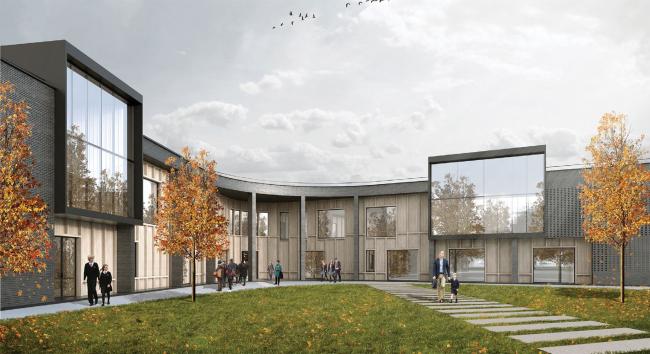 «Финская школа» на 150 учащихся.  Московская область.  IND Architects