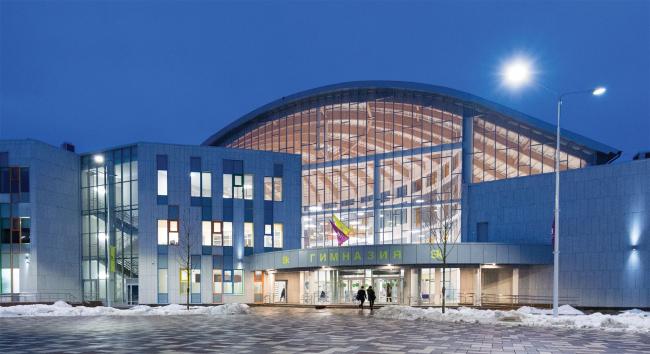 Международная гимназия Инновационного центра Сколково.  Архитектурное бюро «АБ ЭЛИС»