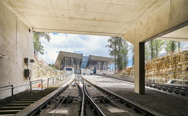 Железнодорожная станция «Пфаффенталь-Кирхберг» © Andrés Lejona