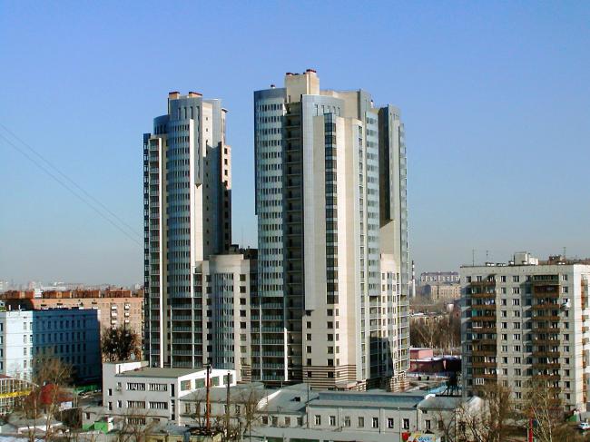 Жилой комплекс «ТРИАНОН» © ГУП МНИИП «Моспроект-4»