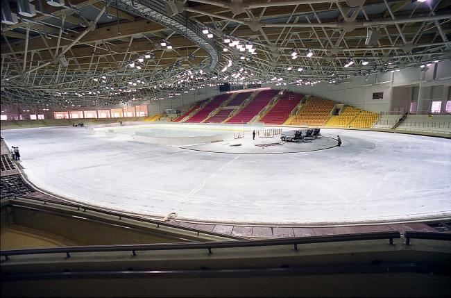 Крытый конькобежный центр в Крылатском © ГУП МНИИП «Моспроект-4»