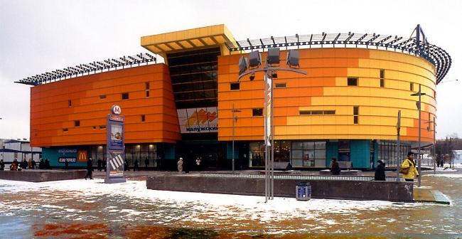 Торговый центр «Калужский» © ГУП МНИИП «Моспроект-4»
