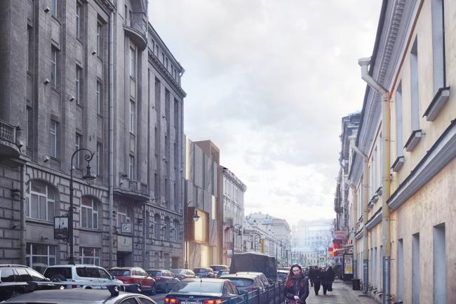 Концепция развития Литературно-мемориального музея Ф.М. Достоевского, 2018 © Евгений Герасимов и партнеры