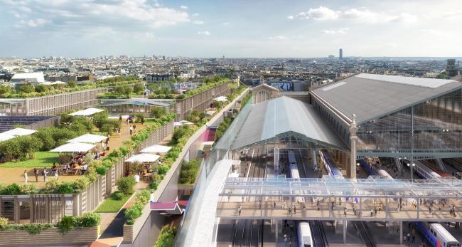Северный вокзал – расширение и реконструкция © Valode & Pistre