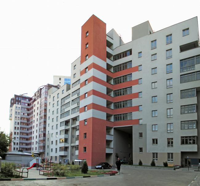 Жилой дом с офисом «Совершенно секретно» на улице Композиторской © ГУП МНИИП «Моспроект-4»