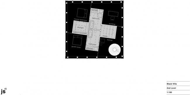 «Черная вилла» – дом для коллекционера искусства © Jan Skuratowski Architektur
