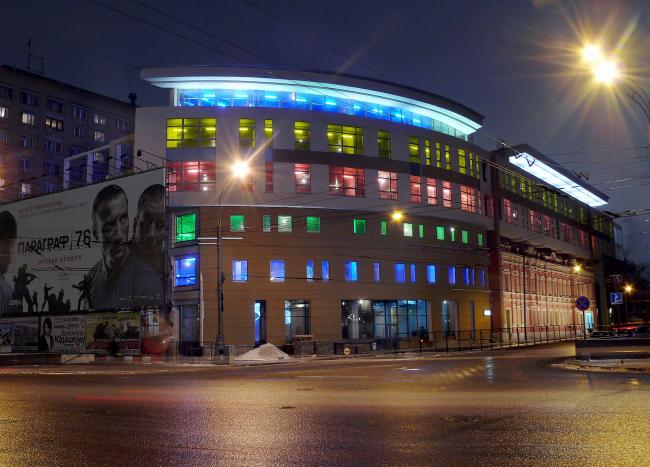 Многофункциональное здание «Школа телевизионного мастерства под руководством В.В.Познера» © ГУП МНИИП «Моспроект-4»