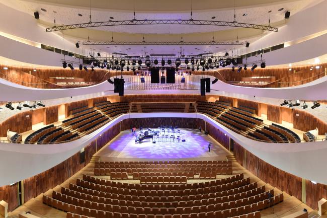 Концертный зал «Зарядье». Фотография © Илья Иванов