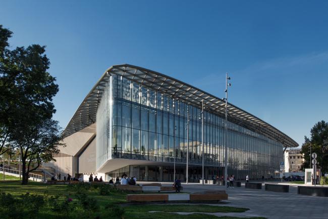Концертный зал «Зарядье». Фотография © Алексей Народицкий